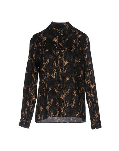 Versus Floral Shirts & Blouses In Black