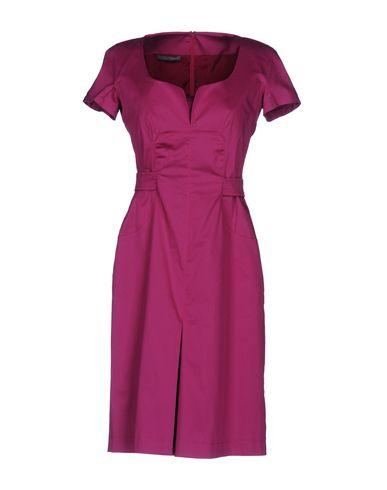 Alberta Ferretti Short Dresses In Garnet