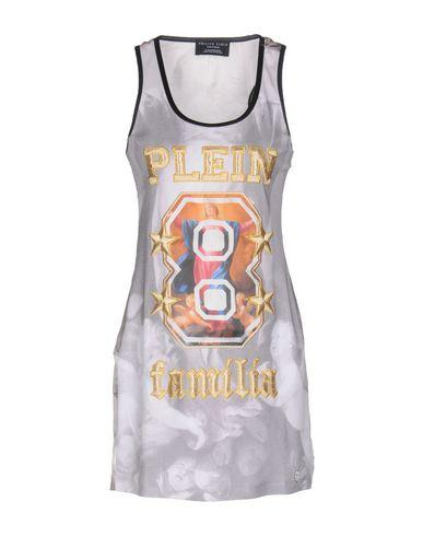 Philipp Plein Tank Top In Light Grey