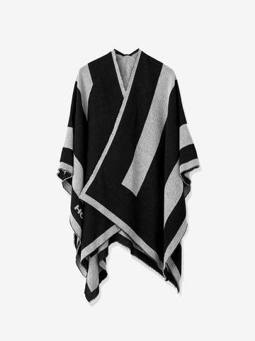Ss20 Icon Poncho Black/cool Gray