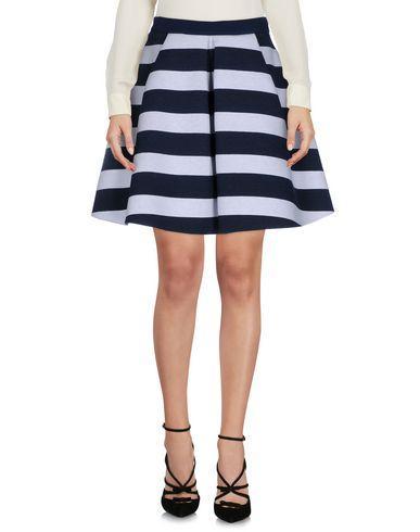 Pinko Knee Length Skirts In Dark Blue