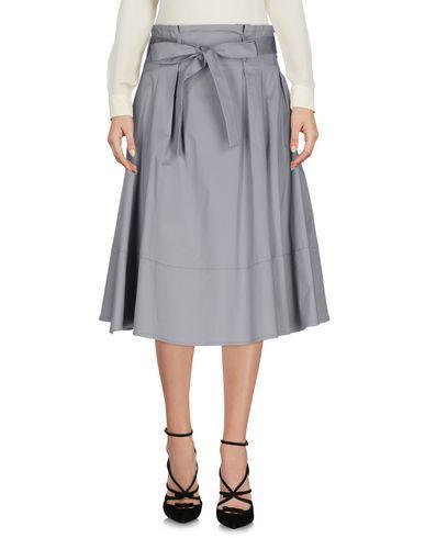 Philipp Plein Knee Length Skirts In Grey