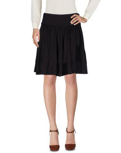 Diane Von Furstenberg Mini Skirt In Dark Brown
