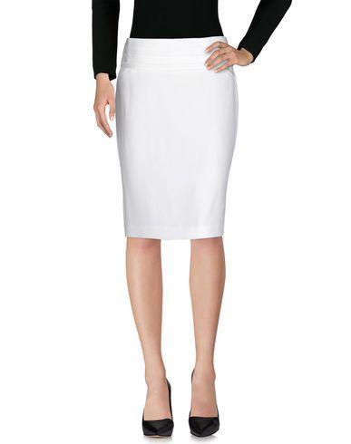 Emporio Armani Knee Length Skirts In White
