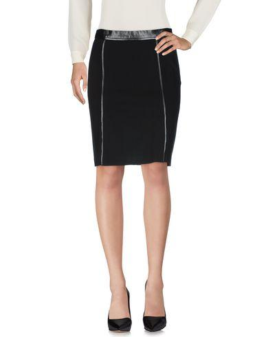 Dkny Knee Length Skirt In Black