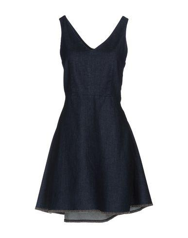 Emporio Armani Denim Dress In Blue