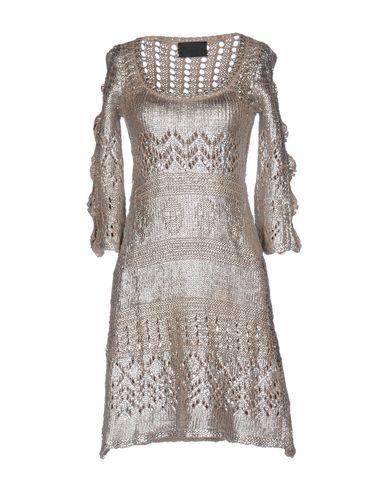 Philipp Plein Short Dress In Silver