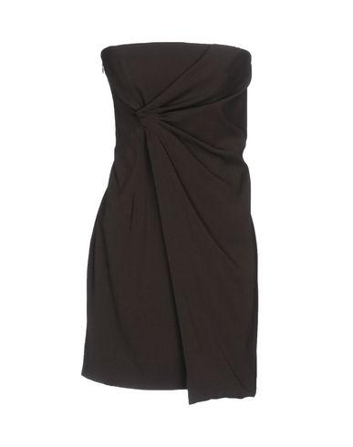 Dsquared2 Short Dress In Dark Brown