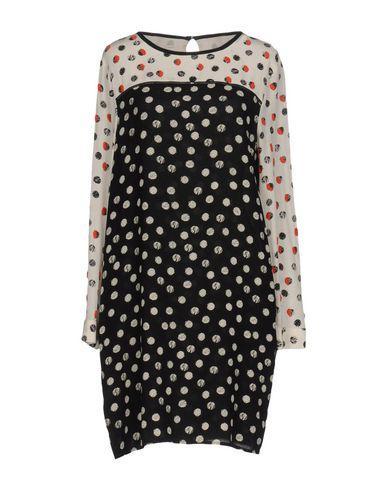 Pinko Short Dresses In Black
