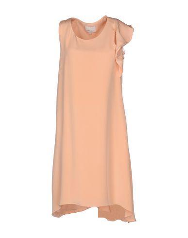 3.1 Phillip Lim Short Dress In Salmon Pink