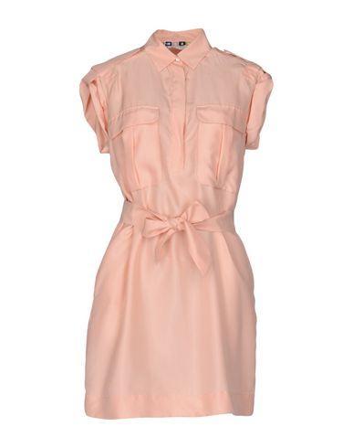 Msgm Shirt Dress In Pink