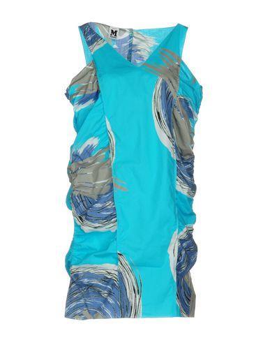 M Missoni Short Dresses In Sky Blue