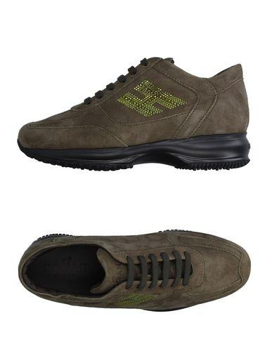 Hogan Sneakers In Military Green
