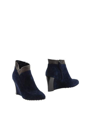 Tod's Ankle Boot In Dark Blue
