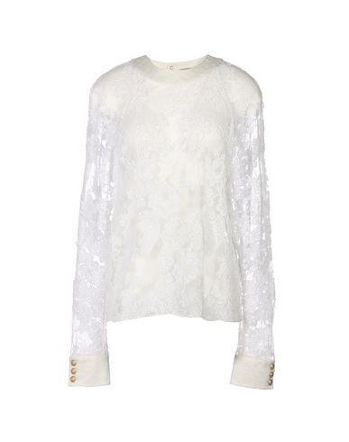 Balmain Lace Shirts & Blouses In White