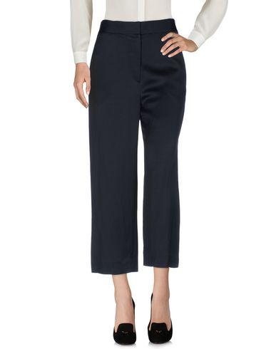 The Row Casual Pants In Dark Blue