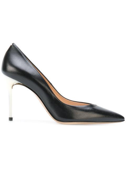 Maison Margiela Deconstructed Pointed Toe Pumps In Black