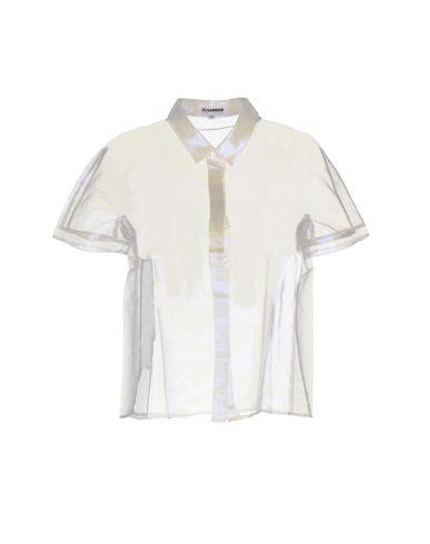 Jil Sander Solid Color Shirts & Blouses In White