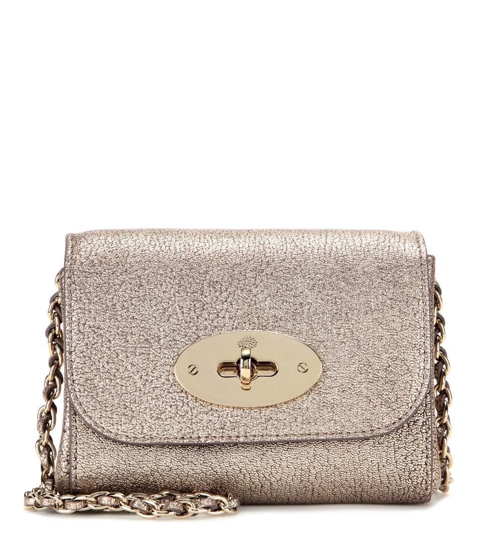 Mulberry Mini Lily Metallic Leather Shoulder Bag  ac498dcf7b66d