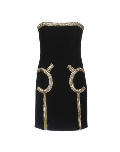 Moschino Short Dresses In Black
