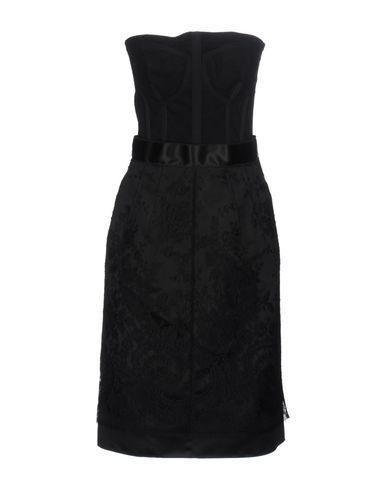 Dolce & Gabbana Short Dresses In Black