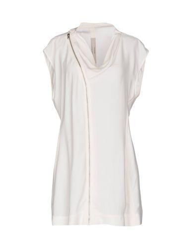 Rick Owens Solid Color Shirts & Blouses In Ivory
