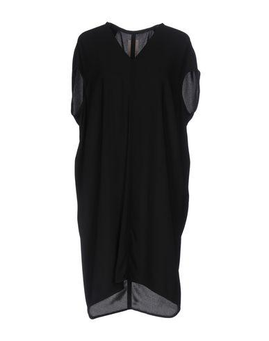Rick Owens Short Dress In Black