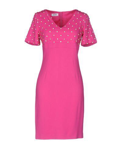 Moschino Short Dress In Fuchsia