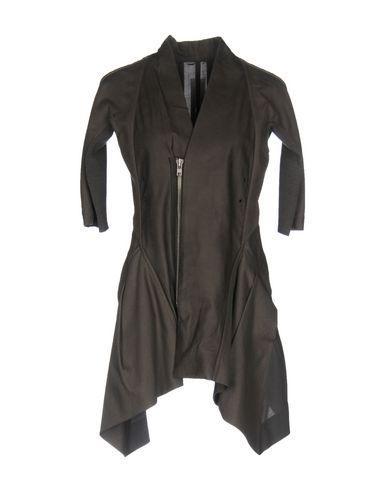 Rick Owens Full-length Jacket In Grey