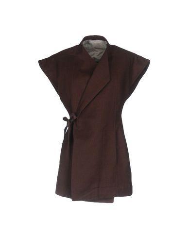 Rick Owens Coat In Cocoa