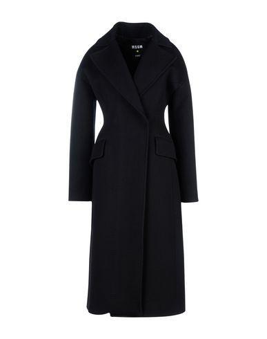 Msgm Coats In Black