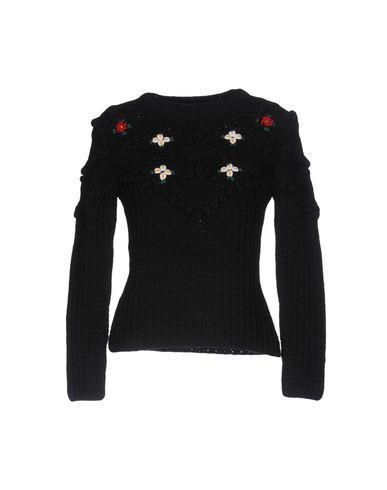 Miu Miu Sweaters In Black