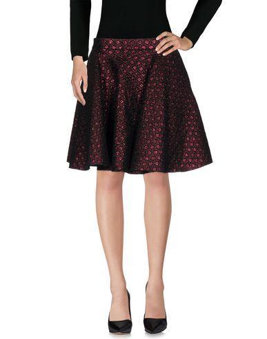 Giamba Knee Length Skirts In Maroon