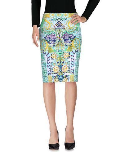 Mary Katrantzou Knee Length Skirt In Light Green