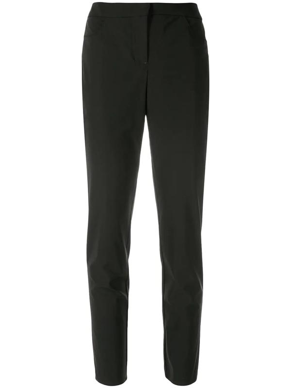 Alcaçuz Silicone Skinny Trousers In Black
