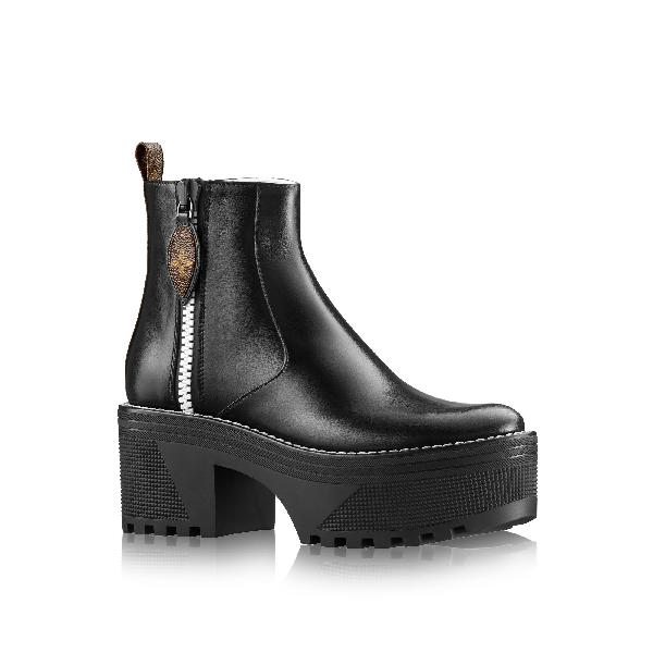 e7b8b63ccad6 Louis Vuitton Power Squad Platform Ankle Boot