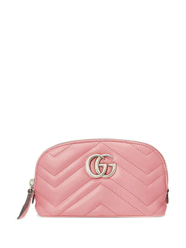 Gucci Gg Marmont Cosmetic Case In Black