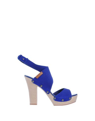 Sergio Rossi Sandals In Bright Blue