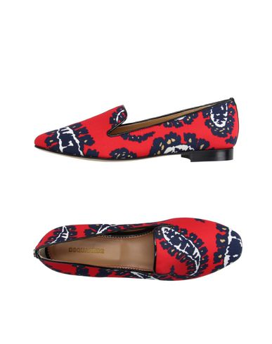 Dsquared2 Loafers In Red