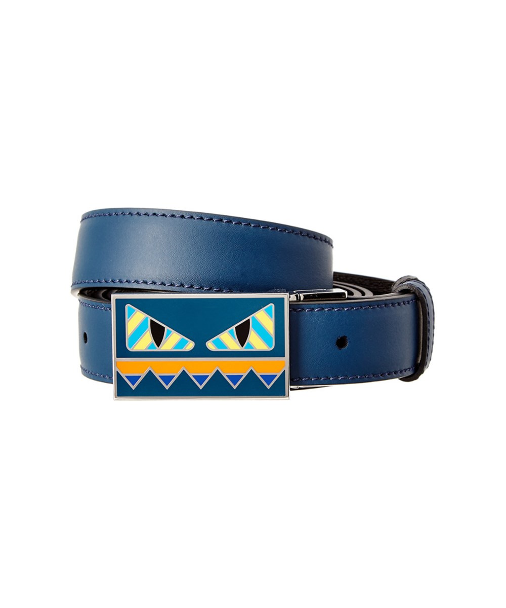 8c9b81fe4f Fendi Bag Bugs Reversible Leather Belt in Multi