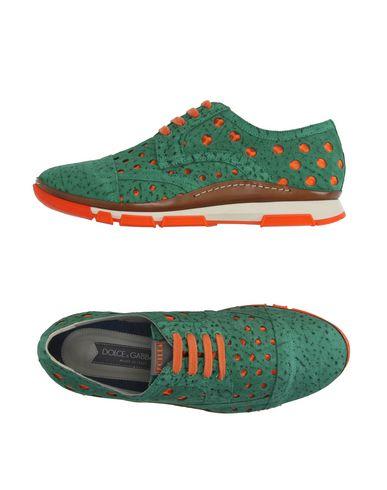 Dolce & Gabbana Low-tops In Green