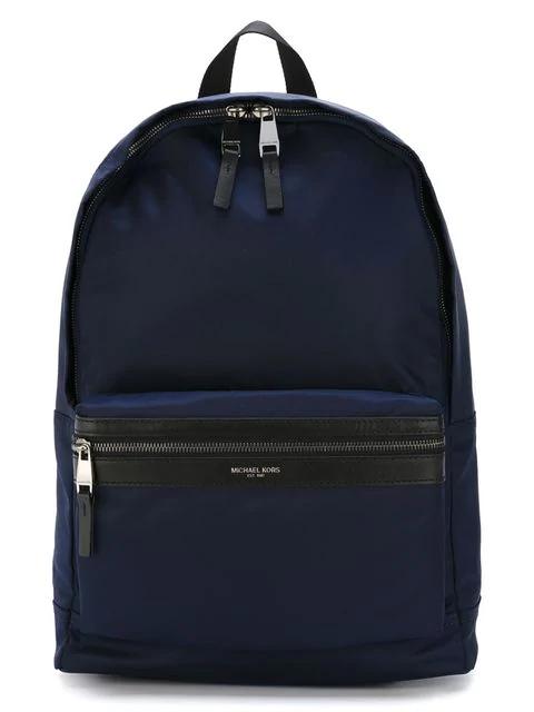 30ad3fa81c25 Michael Kors Kent Nylon Backpack In Blue   ModeSens