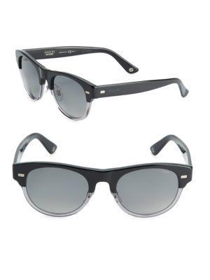 a8724640293b5 Gucci 53Mm Clubmaster Sunglasses In Black Multi