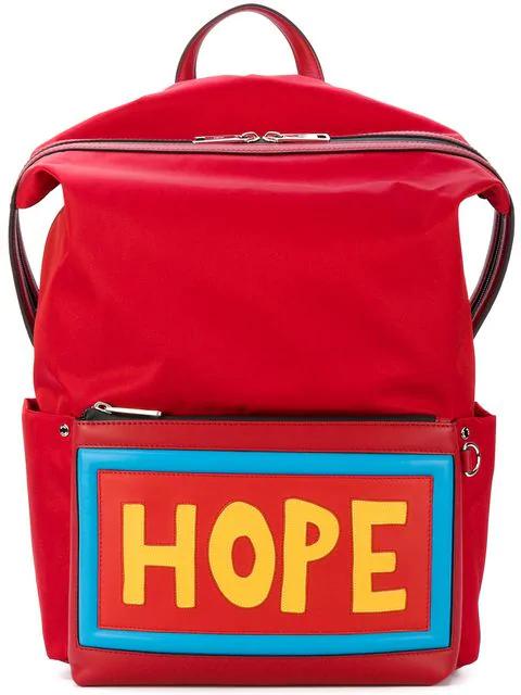 6d72f5736198 Fendi Hope Backpack In Red