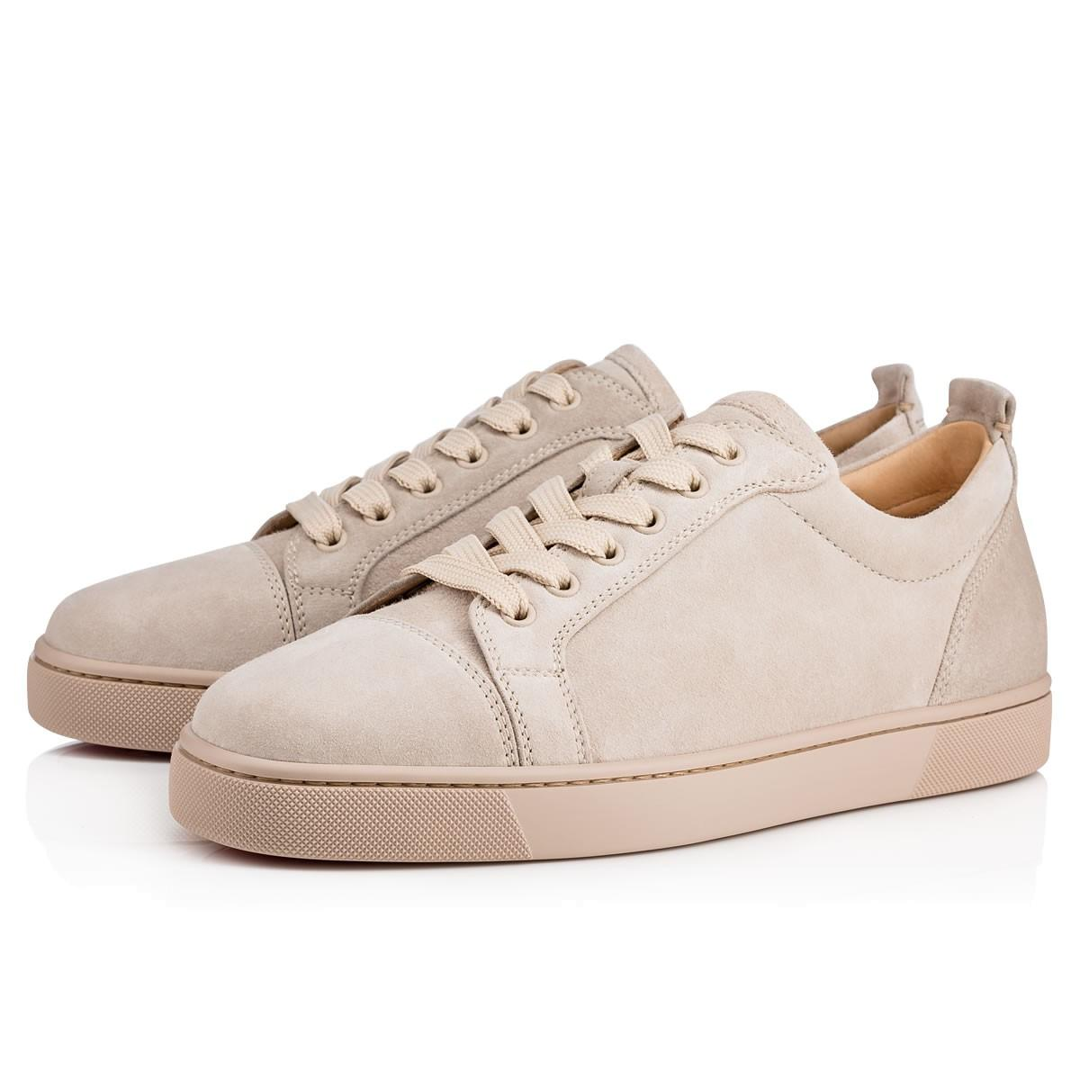 115d46a339ee Christian Louboutin Louis Junior Men s Flat In Colombe