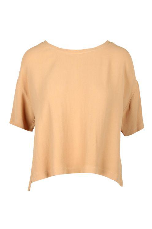 Alessia Santi Shirts Brown