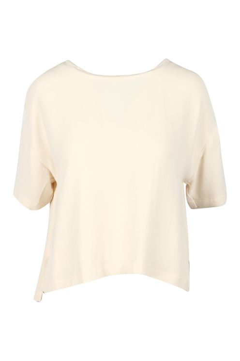 Alessia Santi Shirts Ivory In White