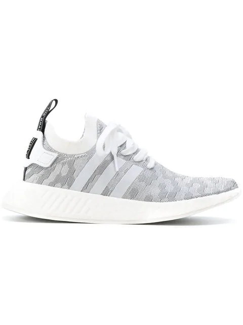 Women's Originals Nmd R2 Primeknit Casual Shoes, Grey Size 10.0 in Cllack