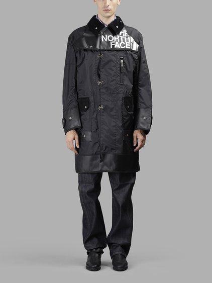 e0c4a74586 Junya Watanabe Black The North Face Edition Buckle Duffle Bag Coat ...