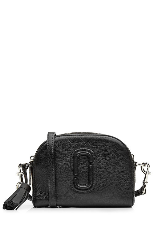 c49bec103831 Marc Jacobs Small Shutter Leather Camera Bag - Black
